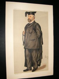 Vanity Fair Print 1889 Edmund Henry Morgan, Teacher